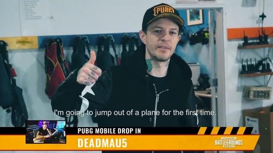 Special Guest Deadmau5 Air Drops into PUBG MOBILE