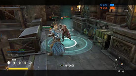 For Honor killing Vikings and Samurai triple kill