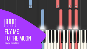 Fly Me To The Moon : Tutoriel de piano jazz - Exercice