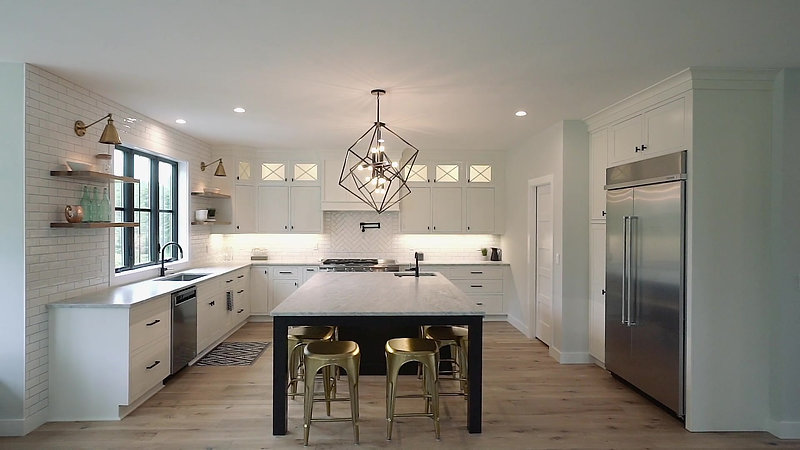 Maine Cabinet Company - Transitional Kitchen