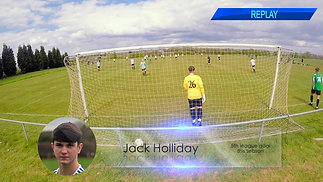 Jack Holliday Goal (1) v Tingley Athletic Reserves