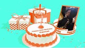 Happy 50th Birthday Patrice