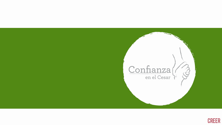 """Explicación sobre el proyecto """"Confianza en el Cesar"""""""