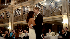 George Peabody Library Wedding Video