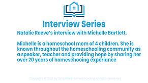 Interview With Michelle Bartlett