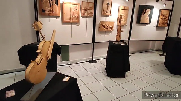 Exposition photo peinture sculpture de jazz