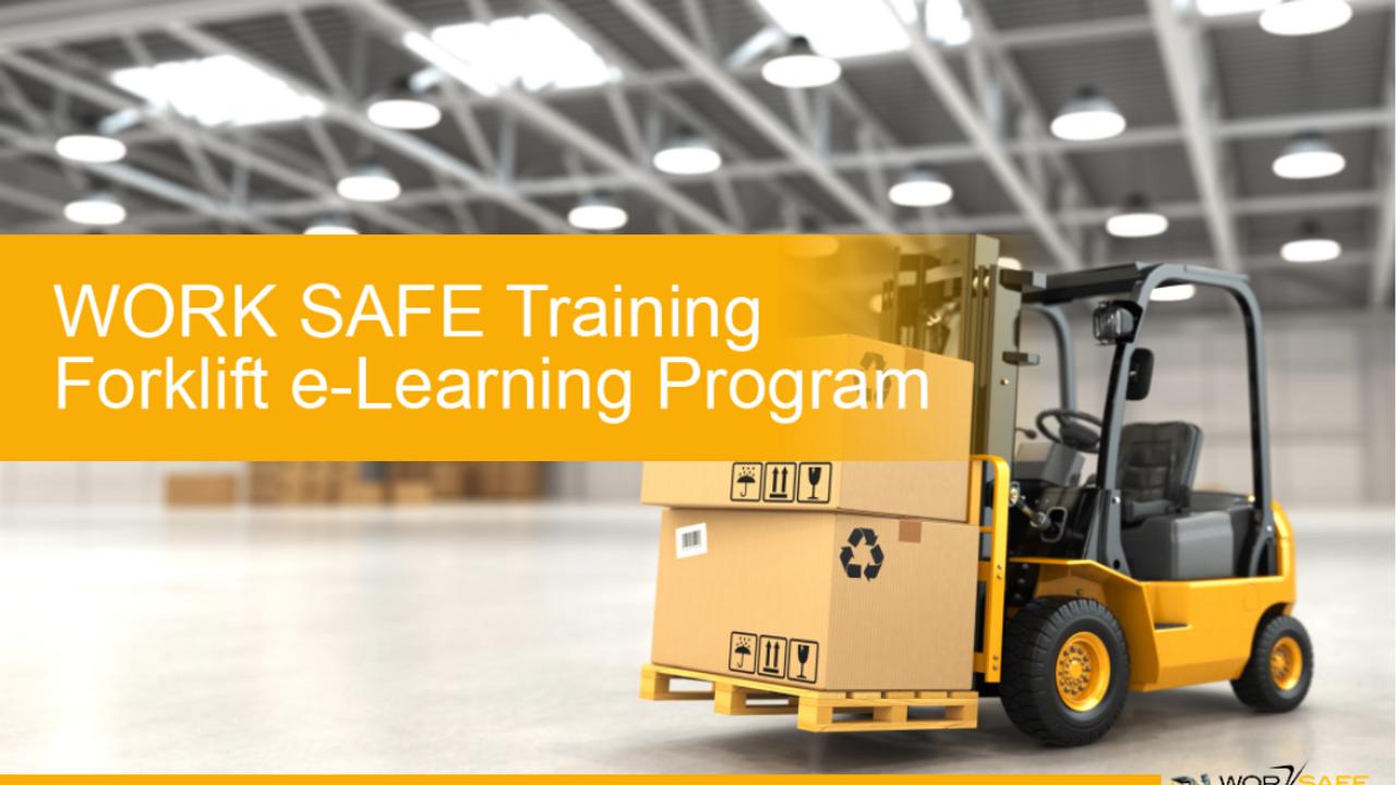 Forklift e-Learning Program