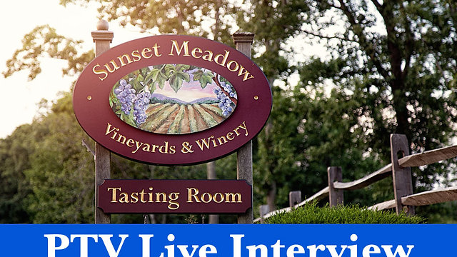 Join us for a  live Interview on May 12th with Sunset Meadow Vineyards