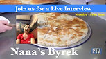 Live Interview with Nana's Byrek
