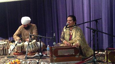Anandita Basu leads Music and Meditation at SFU