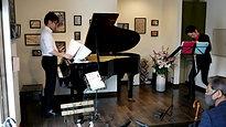 4/29 フルート・クラリネット・ピアノ