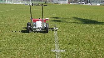 SWOZI - Autonomous Sports Field Line Painter