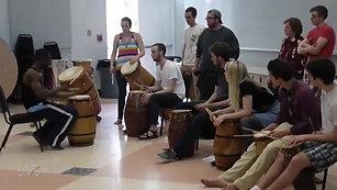 Adzogbo drum class