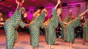 Adzogbo dance class