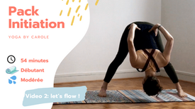 Pack initiation - cours n2 let's flow