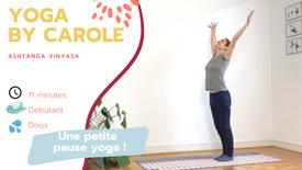 Petite pause yoga