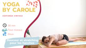 Douceur et stretching pour les hanches
