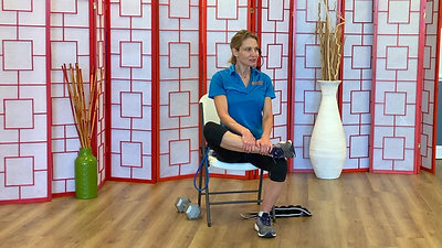 Stretching Routine in the chair