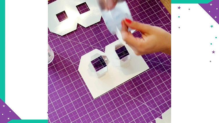 Tutorial armado de Letra 3D