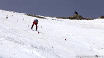 Bastien Montès - Avril 2015 - départ du sommet de Vars - 242km/h