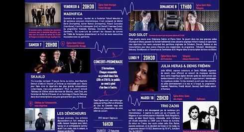 31e édition des Concerts en Valognais
