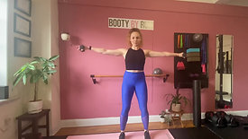 Follow along Barre Arms- Shoulders and Triceps!