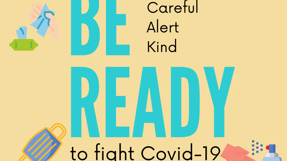 Be Ready - Dealing with Covid-19