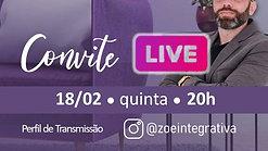 Convite Live 18.02.21 20h