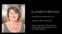 ELIZABETH BROOKS SHOWREEL