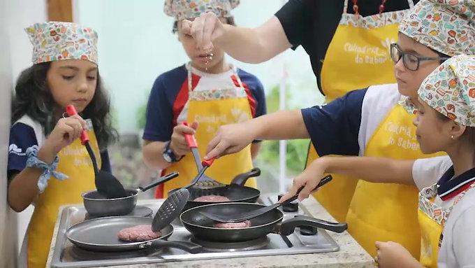 Video Culinaria do Saber Integral