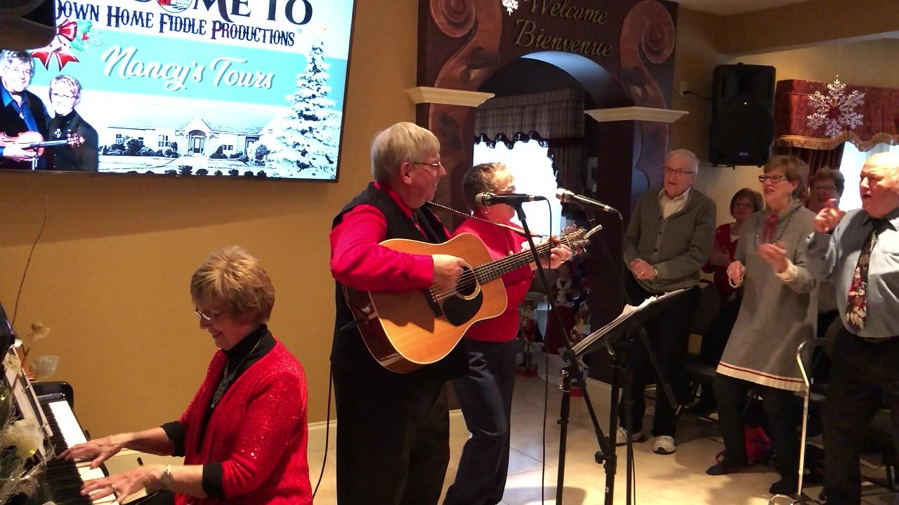 Down Home Fiddle Productions™ Christmas Kitchen Party