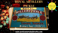 Royal Artillery Pickle