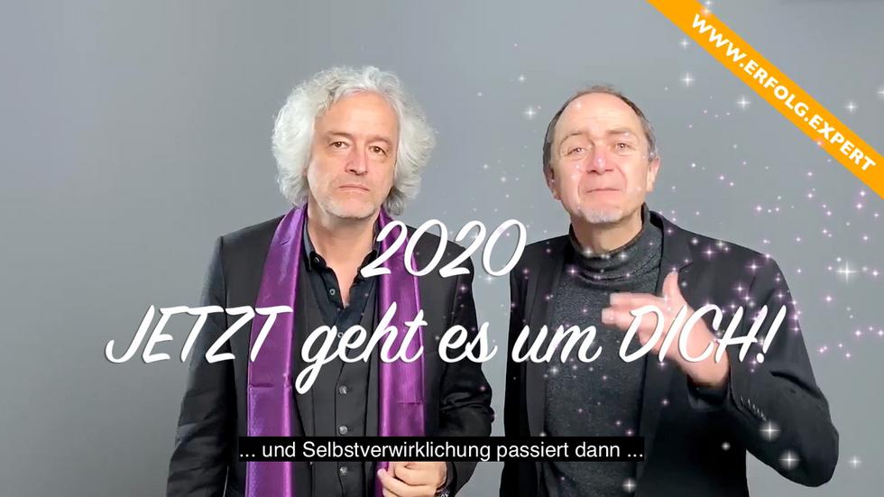 2020: Dein Jahr des Wandels