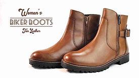 Womens Biker Boots