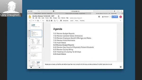 CSP 7.0 8.0 webinar