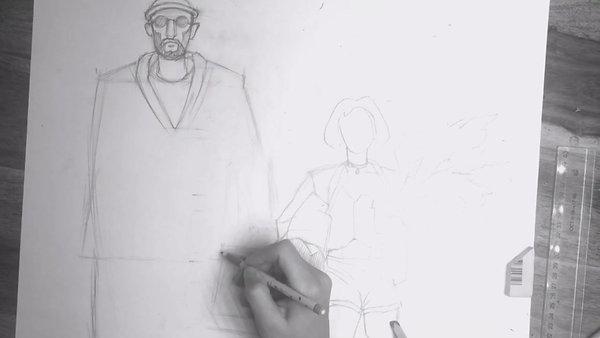 Леон, процесс создания