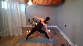 "Vinyasa ""Balance and Spinal Twists"""