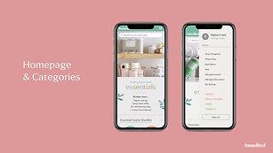 Homepage & Categories