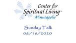 Sunday Talk 08-16-2020