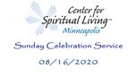 Sunday Celebration 08-16-2020