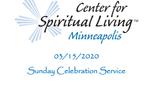 03/15/2020 - Sunday Celebration Service