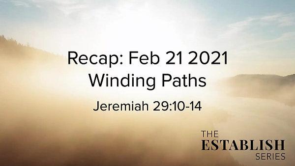 Sermon Summary Feb 21