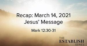 Sermon Summary March 14