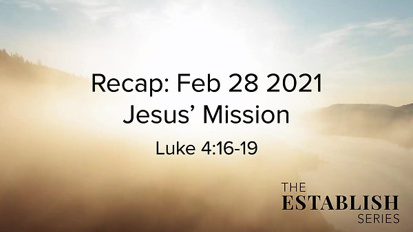 Sermon Summary Feb 28