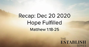 Sermon Summary Dec 20