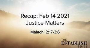 Sermon Summary Feb 14