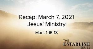 Sermon Summary March 7
