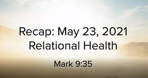 Sermon Summary May 23
