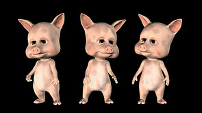 Three little pigs (4K)