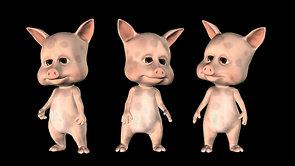 Three little pigs (4K)